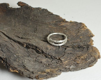 Silver twig ring, Branch ring, nature inspired jewelry, vine ring, statement ring, men's ring
