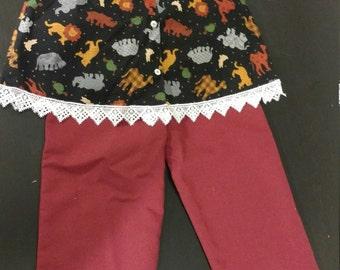 Girls 2 pc pant set