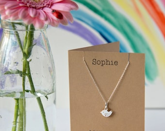 A little birdie necklace