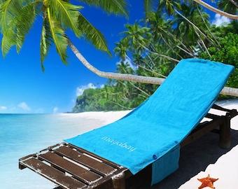 Windproof beach towel