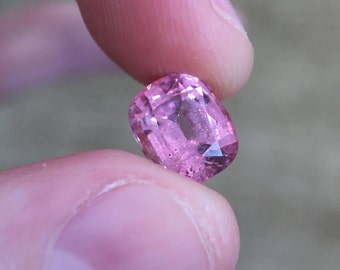 Beautiful, Rare Pink Spinel, 3.13 Carat, Antique Cusion Cut - An Exceptional, Beautiful, Rare Gem