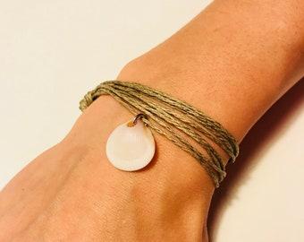 Hemp Shell Bracelet/Anklet/Necklace