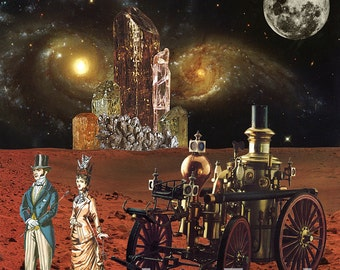 Victorian Vacation: Red Planet