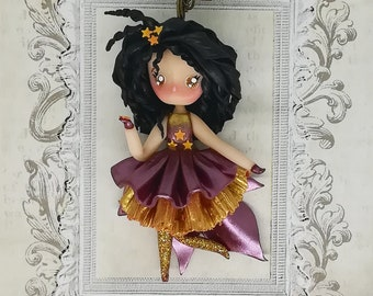 Morning star doll necklace