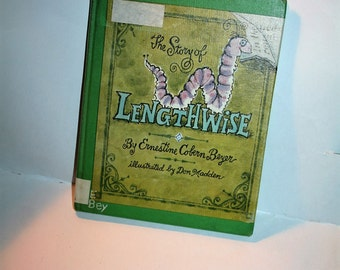 """Vintage 1967 """"Lengthwise"""" by Ernestine Cobern Beyer / Illustrated by Don Madden!  Hardcover!  Nice Library Copy!"""