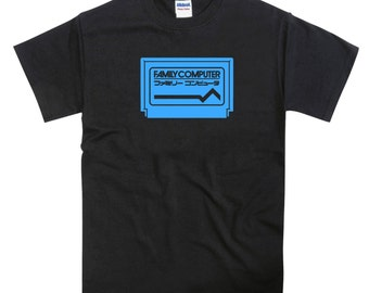 NES Famicom Cartridge Tribute T-shirt