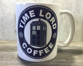 Doctor Who - Time Lord - Coffee - Mug