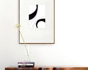 Lines abstract- abstract art print, abstract, modern art, abstract print, abstract wall art, minimalist print, glicee, modern large print