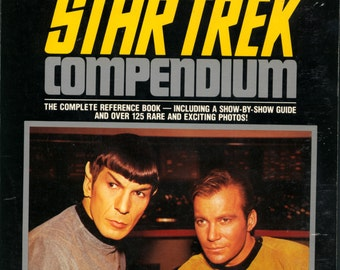 The Star Trek Compendium Revised Edition 1989 TPB SC VG Reference
