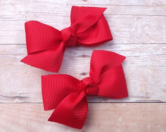 You pick color hair bows - pigtail bows, girls hair bows, hair bows for girls, baby bows, toddler hair bows, baby hair bows, bows for girls