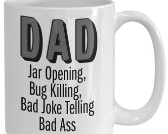 Funny dad coffee mug - great gift idea for cool awesome fathers