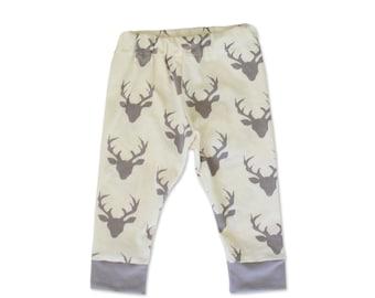 Boy Toddler Pants- Deer - Toddler Pants - Hunting Baby
