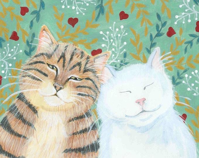 I'll Love You Fur-Ever blank Valentine