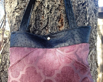 Miss Mini Mauve Handbag
