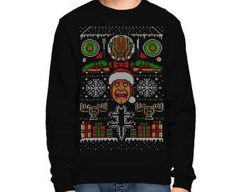 Christmas Vacation Ugly SWEATSHIRT / Chevy Chase / Comedy / Eighties