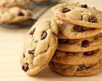 Grandmas Chocolate Chip Cookies (fresh or frozen) 12 ct.