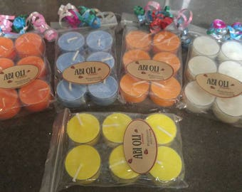 6 pack Tealight Candles