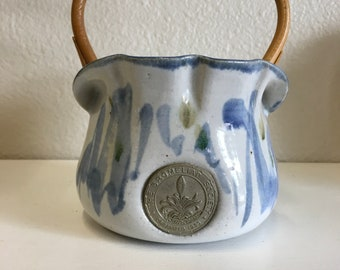 Pot en céramique de la société broméliacées