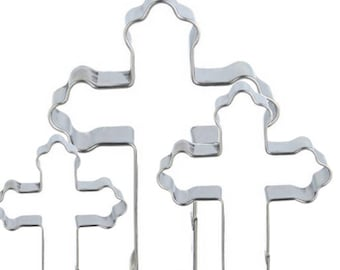 Rounded Ends Cross Cutter Set