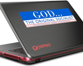 God... The Original Socialist Bumper Sticker   #feelthebern  Bernie Decals  Bernie Sanders Decals   Socialist  FREE SHIPPING!!!