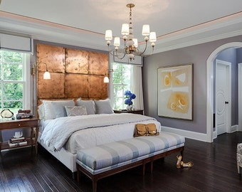 Copper Accent Wall