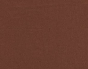 """45"""" Copper Broadcloth Fabric - By The Yard"""
