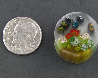 The Butterfly Garden by Greg Chase Murrine Boro Cane 7 grams - 125 E