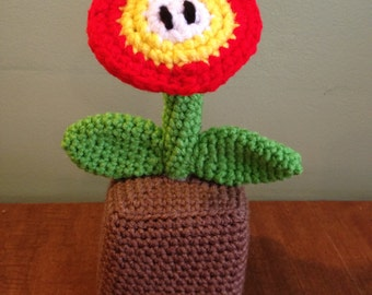 Crochet Super Mario Fire Flower