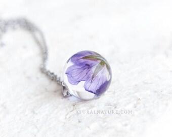Wildflower ⇷18mm⇸ Gift for her | Handmade gift | Wild flower necklace for her | Gift idea | Handmade jewelry for her | Flower gift for woman