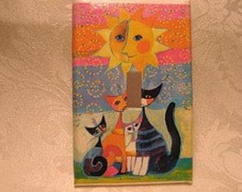 Sunshine Kitties Switchplate (single regular)