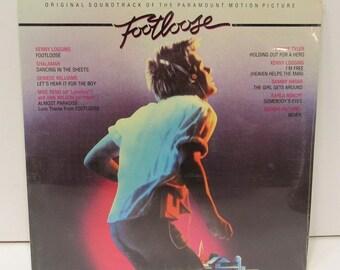 Footloose Original Soundtrack Vinyl 33-1/3 RPM LP Record, Still Sealed