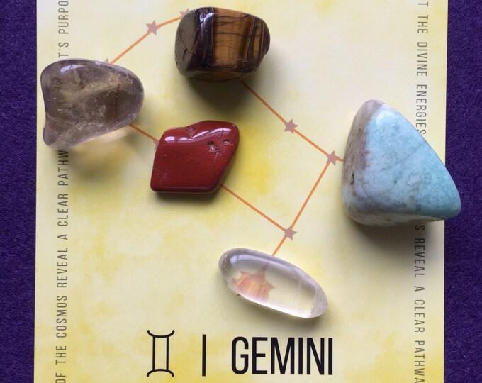 Crystal - Gemini Crystal Grid - astrological