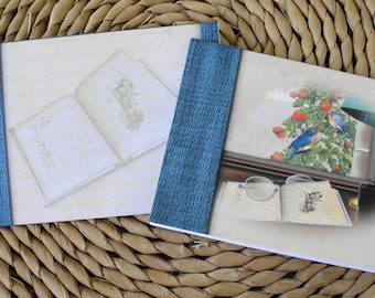 Library, Books, Reading Blank Notecards Set of 12 With Matching Envelopes