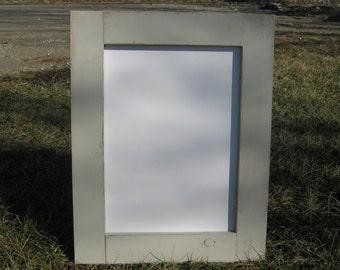 Cream white distressed dry erase board almond white rustic whiteboard home office message center white board