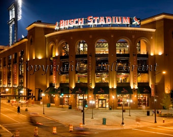 Busch Stadium St. Louis Missouri St Louis Cardinals Baseball Art Print Photo