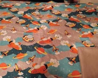 Space ship blanket