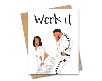 Work it Card - Rihanna and Drake - Any Occasion