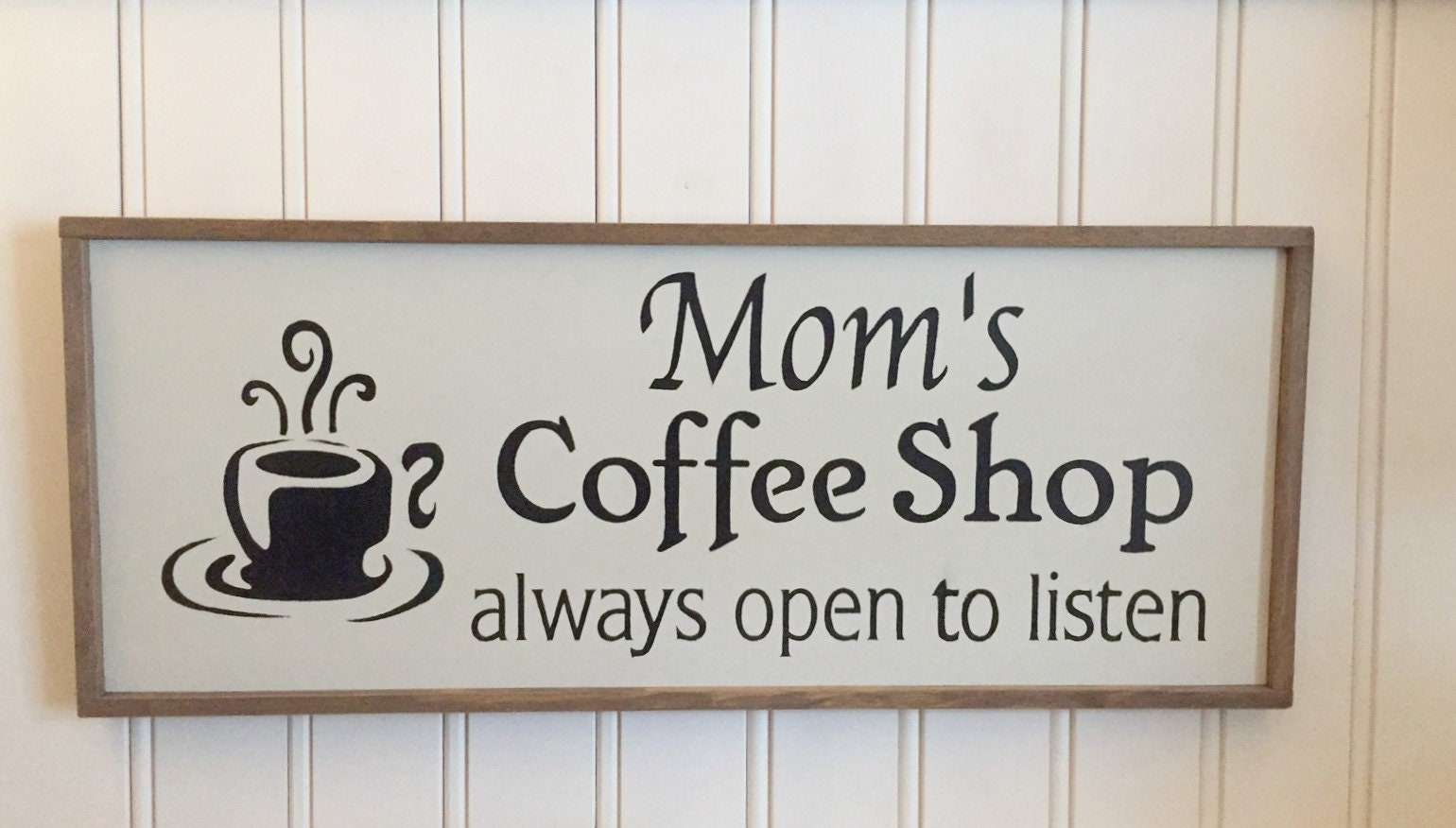 Coffee Signs. Kitchen Signs. Coffee Bar Signs. Mom\'s