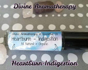 Divine Aromatherapy: Heartburn and Indigestion - Organic Essential Oils