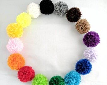 Cat Pom Pom Set, Catnip Balls, Catnip Puffs, Valerian Cat Toys, Silvervine Cat Toys, Balls with Bells, Bell Cat Toys, Ball Cat Toys