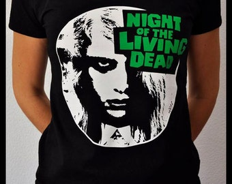 Night of the Living Dead T-shirt woman M size ***Last unit***ON SALE - Horror classic zombie movie