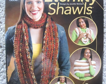 Crochet Pattern Book - Eternity Shawls - Annie's Attic #875552