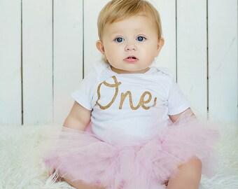 First Birthday Outfit Girl Tutu, Cake Smash Outfit Girl Tutu, 1st Birthday Outfit Tutu, SEWN Tutu Skirt, Tulle Skirt, 1st Birthday Tutu Gift