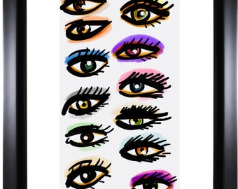 A Study of Eyes Shapes