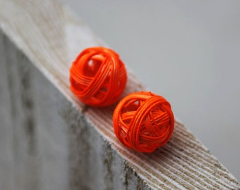 Neon Orange Ball