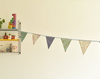 Schattige Egels slingers | vlaggenlijn | Partydecoration/Feestdecoratie. Mooie pastel kleuren in een bosdieren thema