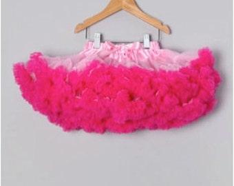 Light/Hot Pink Combo Premium Petti Skirts for Baby to Big Girls!!!