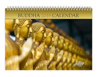 Buddha 2018 Wall Calendar