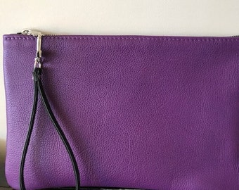 Purle Leather Pouch