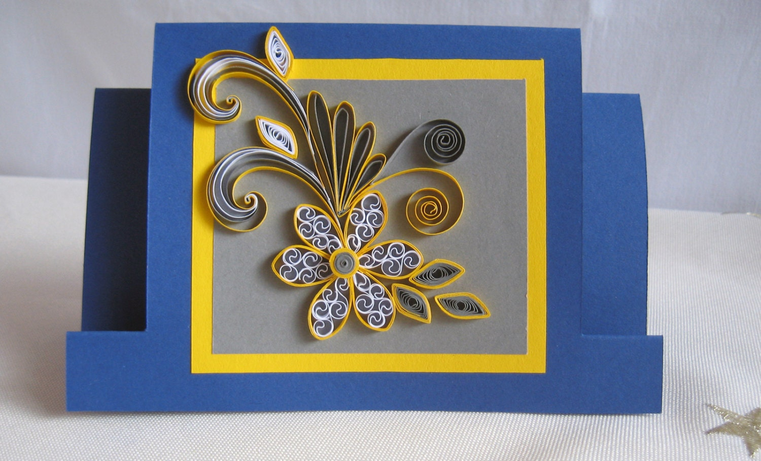 Greeting card making using quilling paper greeting card making using creative paper quilling gift ideas bookmarktalkfo Choice Image